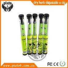 huge vapor and nice taste 500 puffs disposable e hookah dry herb wax glass globe vaporizer kit