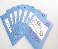 OEM accepted school exercise book with full color printing