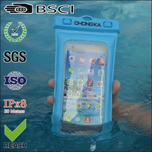 New design pvc swimming waterproof mobile phone pouch