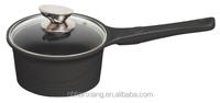 korean diecasting aluminum non-stick milk cookware