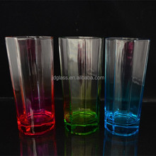 i have New design color glassware new products according customer