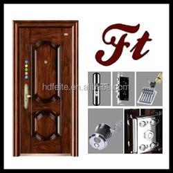 china new model best price building materials door frame steel door high quality steel security doors