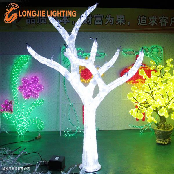 주도 조명 트리 휴일/ 반짝이는 LED 나무 꽃과 축제 장식-휴일 ...