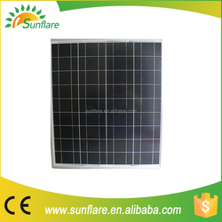 75W Poly Solar Panels with factory price