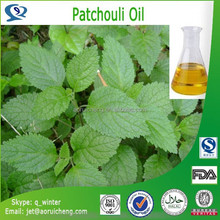 Natural & pure patchouli perfume oil with high quality, factory supply patchouli oil price