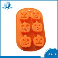 Factory Price Silicone Halloween Pumpkin Cake Mold