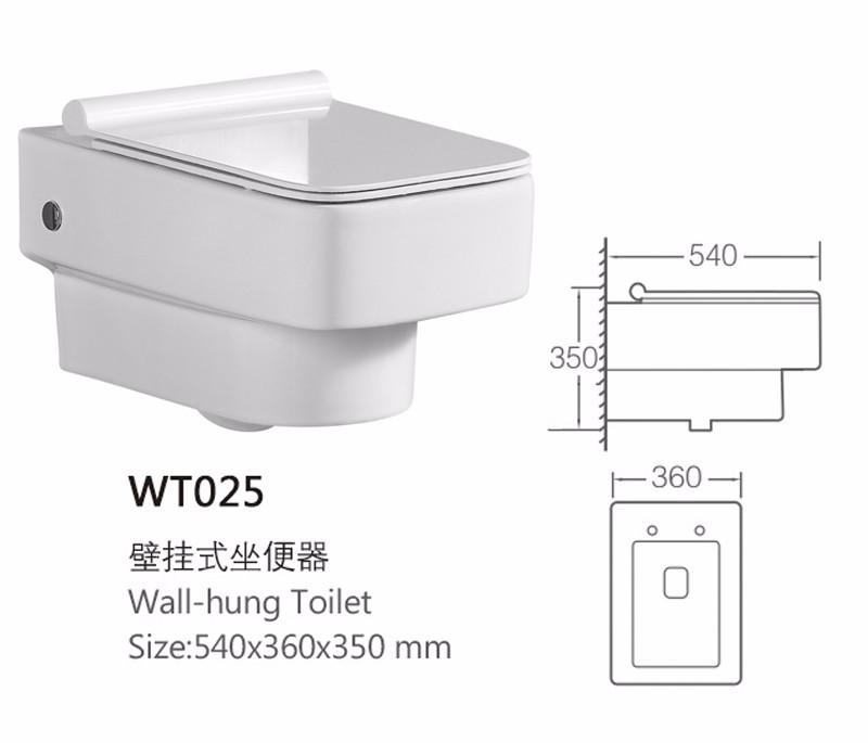 작은 크기 이탈리아어 세라믹 재료 벽 기형 화장실 그릇 욕실 ...