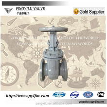 Casting steel stem gate valve DN50 with brass fitting pn16 China manufacturer