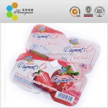 Heat Seal Pre-Cut Lid Yogurt Cup Aluminum Foil Lid