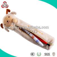 Customized Soft Plush Stuffed Pen Bag,Plush Pencil Bag