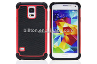 For samsung galaxy S5 i9600 silicone+pc football lines cell phone case