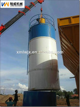 atornilladas luwei silo de cemento para la planta de cemento