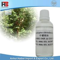 Organic Eucalyptus citriodora oil