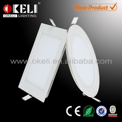 Round Ultra thin panel light 12w led ceiling panel light/ultra thin led light panel