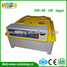 Best selling and labor,energy saving family type jn8-48 egg setter incubator hatcher