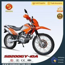 2014 Cheap 200cc Dirt Bike For Sales Dirt Motorcycle SD200GY-10A