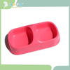 Popular pink 2015 new design custom good material heated pet bowl