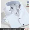 Double collar slim fit summer garment men shirt , short sleeve shirt
