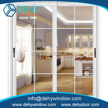 Fine process good quality aluminum alloy frame material sliding door