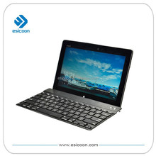 "Smart universal bluetooth keyboard with universal support to hold 7""-12"" tablet"
