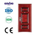 Acero puerta de seguridad/de hierro la puerta de entrada/de hierro la puerta exterior