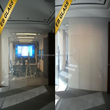 laminated Privacy Glass manufacturer,Opaque treatment pdlc material electric glass EB GLASS BRAND