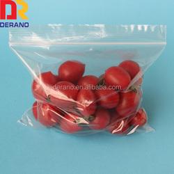 LDPE Plastic Fruit Zip Lock/Zipper Bags