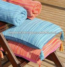 Ikkat Silk Cushion Cover / Cushion Cover / Cotton Cushion Cover