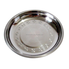 hot new products for 2015 wholesale cheap stainless steel restaurant bulk dinner plates