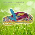 Moda meninas senhoras chinera sandálias sandálias sapatos de mulheres, senhoras chinelos cor fotos para os sapatos de praia