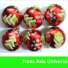 2014 High Quality Custom Christmas Ball With Logo