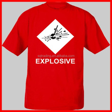 92% polyester 8% spandex mens t shirt