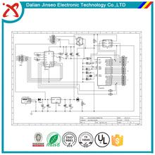 Wireless cctv security camera pcb board design