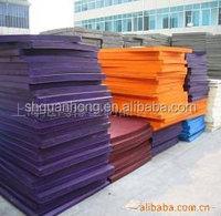 crafts EVA FOAM for school education/color rubber eva foam sheets roll/High quality EVA Sole material