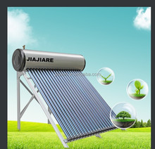 2015 New popular compact pressurized vacuum tube solar water heater