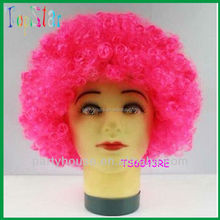 2015 China Suppliers Products Afro Sports Party Wig