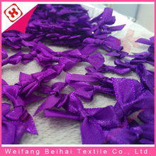 Weifang factory hot sale promotion ribbon bow for halloween