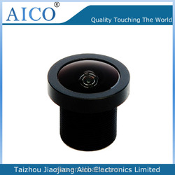 hot sale new product super wide angle 1/4inch F2.1 M12 fisheye lens for cctv camera 1.38mm