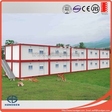 Two bedroom container hotel room for living,school,office with bathroom & Kitchen