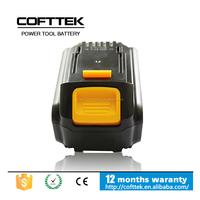 Wholesale Dewalt 20V 4.0ah power tool battery for dewalt 18v 20v li-ion battery with high capacity