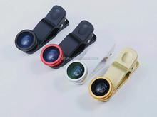 3 In 1 Universal fish eye lens for iphone 4 4s 5 5s 6 lens lente olho de peixe Macro Wide Angle fisheye lens ojo de pez