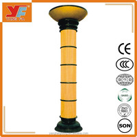 Big size 4 Meters Classic Aluminum Decorative Street Lighting Pole