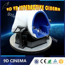 Electric Virtual Reality Wonderful 9D Movies 9D Cinema Electrical Motion Platform With 3D Glasses