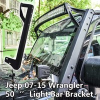 Steel Mounting Brackets for 07-15 Jeep Off Road Wrangler JK