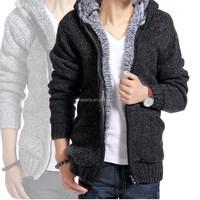 GZY 2015 Garment factory wholesale hot selling cardigan sweater men