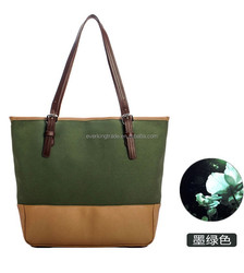 Promotional popular canvas shopping bags