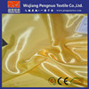 luminous fabric/antistatic poly satin fabric for wedding chair cover