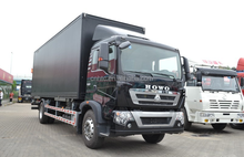 SINOTRUK HOWO Truck T5G MAN Engine Van 4x2 280HP ZZ5167ZKXM561GD1 for Sale in China