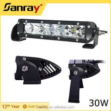 Thin housing 30w led light bar atv led light bar for ATV UTV vehicle