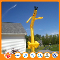 Mini outdoor car wash small inflatable air dancer for sale